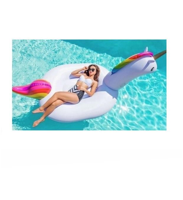 Inflable unicornio 190 cm x1u